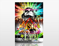 Music Party Event Flyer
