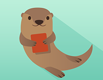 Contact Otter Logo Design