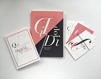 Plegable Tipográfico: Didot