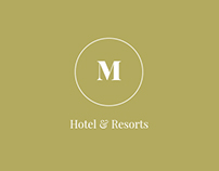 M Hotel - Free login page html template