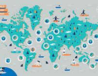 Gestalten Surf Odyssey Map