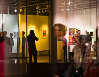 """Luz inquieta"" Exhibition curator. (2017)"