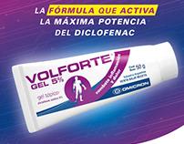 Material POP - Volforte Gel