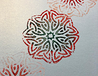 Block Printing (Textured Papers)