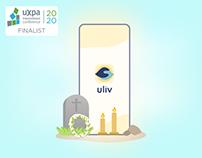 Uliv: UI/UX Design   User Research   Service Design
