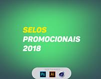 Selos Promocionais - 2018