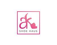 AK Shoe Haus | Logo Design | Branding