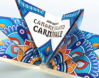 Canary Island Carnivale Invites