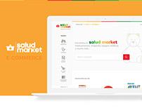 Salud Market e-commerce