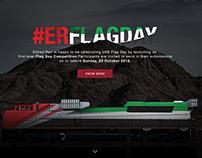 Etihad railway flag day - Microsite