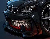 BMW 1-series BeastedUp!