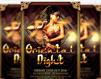 Oriental Night Vol.2 - Premium Flyer Template