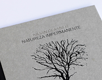 editorial design - natureza impermanente