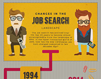 BCL Legal - 'Changes in the Job Search' Infographic