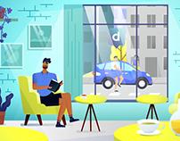 Drivy - mobile app explainer video