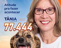 Tânia Larson | Campanha política