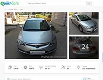 Advertisement details screen