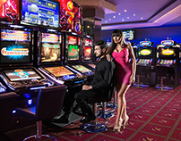 Casino Monte-Carlo commercial photoshoot