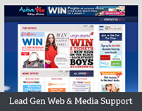 Love Creative UK Lead Gen Website & Support Media