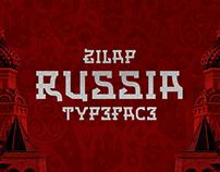 ZILAP RUSSIA TYPEFACE