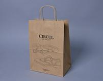 Paper Bag For CIRCUL mark