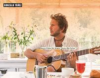Website musician Gonzalo Yañez
