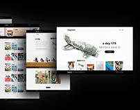 daypoets | redesign & concept