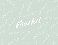 Market - Coffee Shop Branding