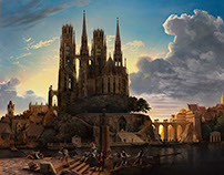 Adobe Stock - Lost Masterpiece: Karl Friedrich Schinkel