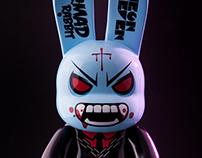 Mad Rabbit Ver. Vampire – Bunny Qee 9″ Custom