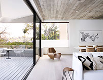 Triplex Apartment by Luigi Rosselli Architects