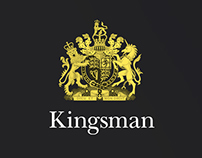 Концепт сайта «Кингсмэн»