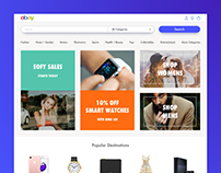 Ebay Homepage Redesign | Daily UI #12