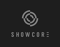 Showcore logo design