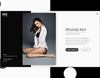 Landing page website daily ui