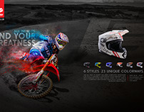 EVS T5 Helmet Launch Print Ad