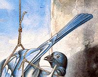 La fonte des oiseaux bleus