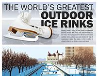Ice rinks infographic