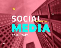 Mídias Sociais | 2016 e 2017