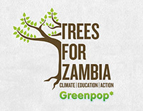 Greenpop Trees for Zambia Event Branding