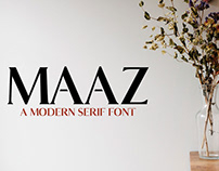 Maaz - Free Serif Demo Font