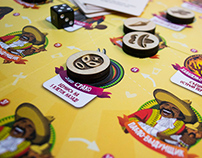 JUAN SOMBRERO - board game