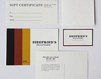 Siegfried's Delicatessen Rebrand