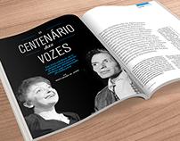 Redesign Hemo em revista Magazine