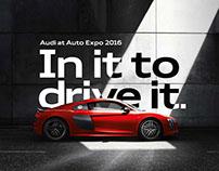 Audi at Audi Expo 2016