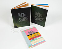 Livro NonSense - Tipografia - Design Gráfico Anhembi