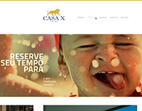 WebSite Imobiliária CasaX