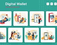 M214_Digital Wallet Illustrations