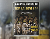 Golden Age Magazine Mockup/Design