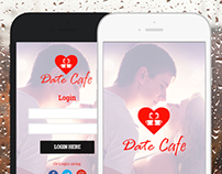 Date Cafe iOS App Design